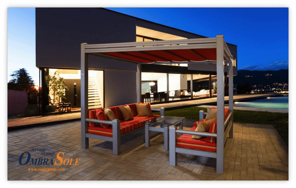 Should you choose a custom made awning for your patio or for Outdoor furniture quebec