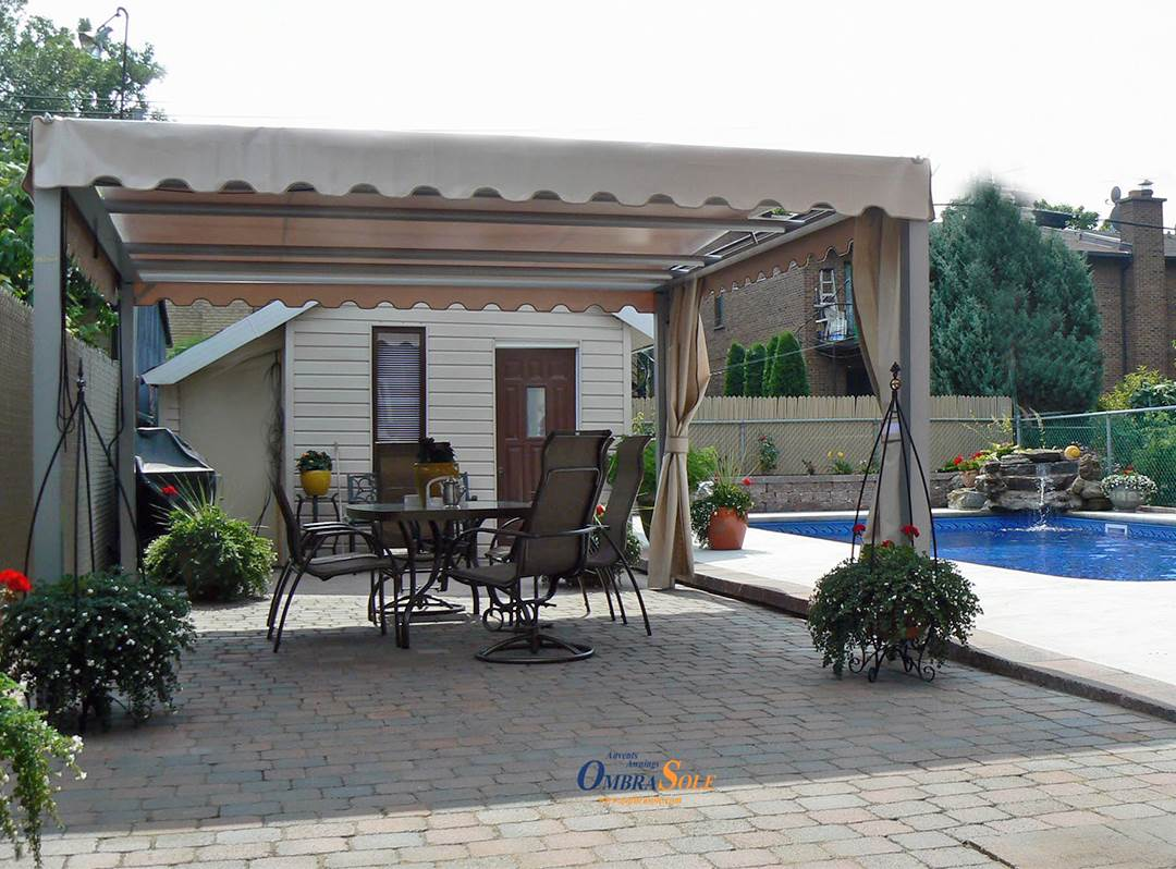 Revamp Your Patio Garden And Backyard With Retractable