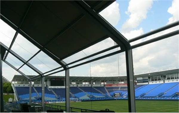 Saputo Stadium Chose Ombrasole To Create An Exclusive