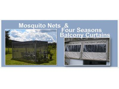 Mosquito Nets & Four Seasons Balcony Curtains