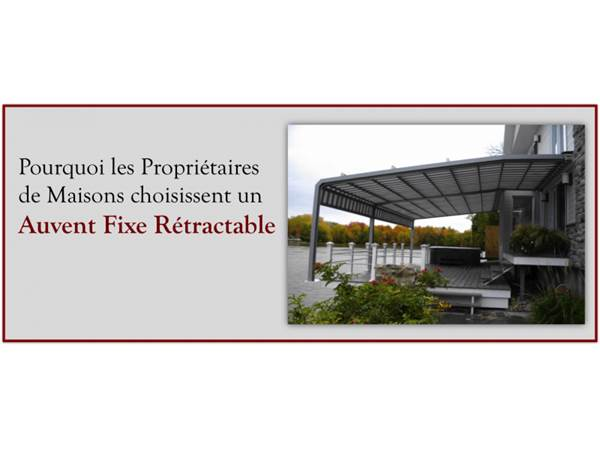 Why Home Owners Are Choosing To Go With a Fixed Retractable Awning
