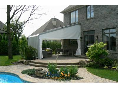 What kind of awnings do you have to buy ?