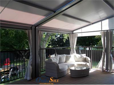 Retractable Awnings with canvas or a Louvered Roof Pergolas?