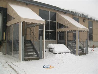 Winterizing your patio: Best awning options and winter care