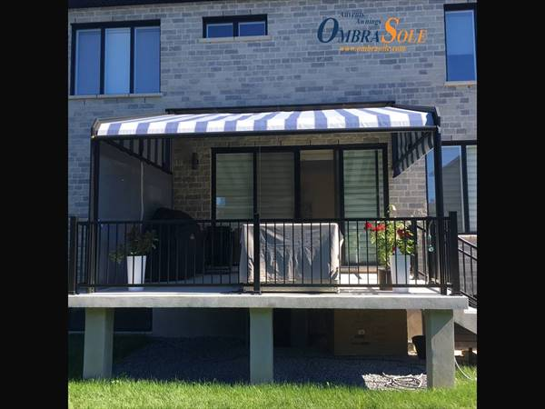 Ombrasole Awnings Fixed Retractable Awning Attico