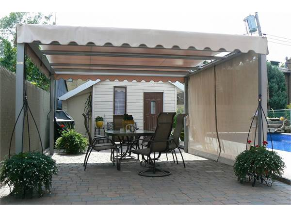Ombrasole Awnings Retractable Pergola