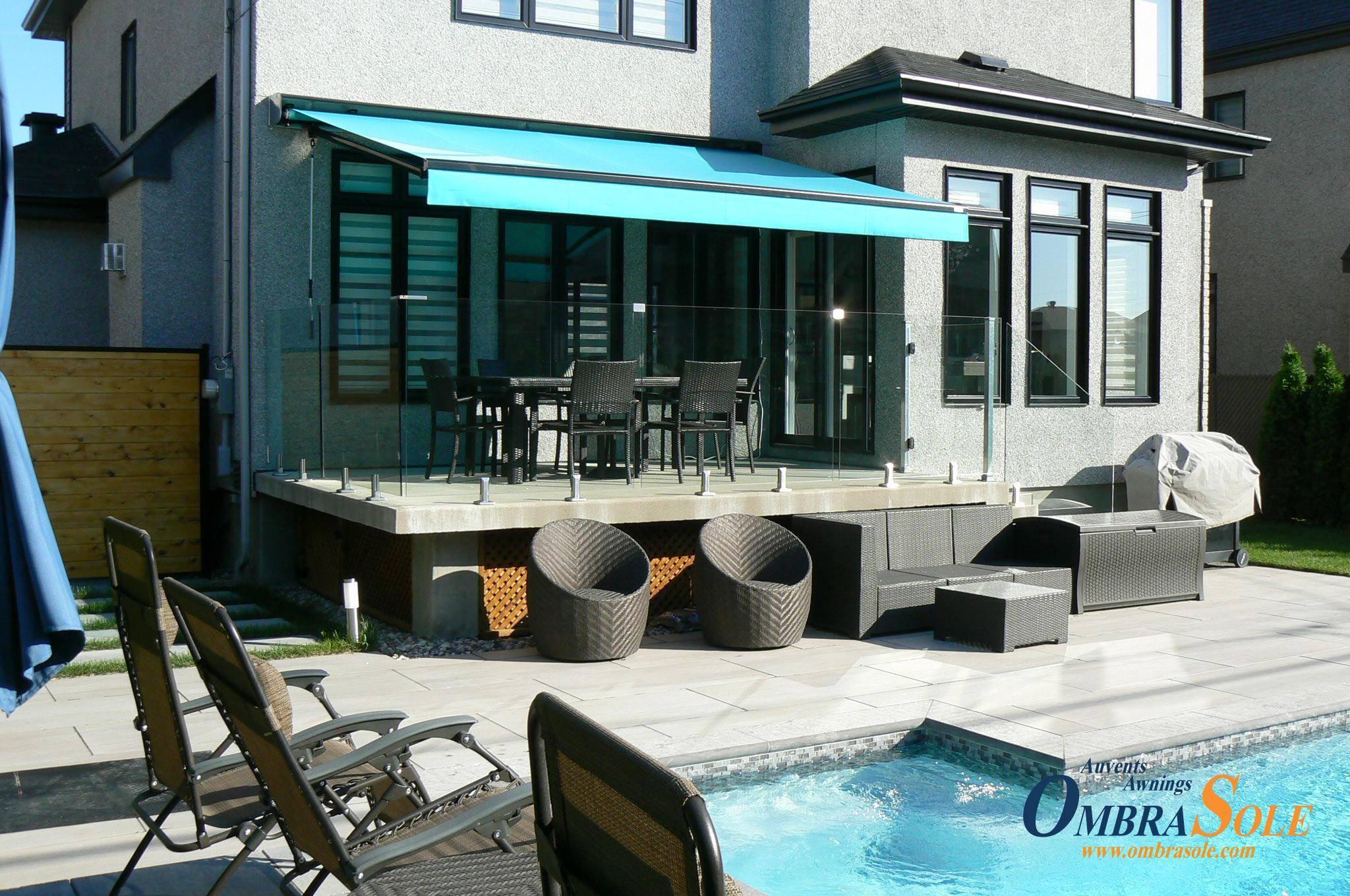 Couvrir Une Cour Intérieure 4 choix d'auvents rétractables pour couvrir votre terrasse
